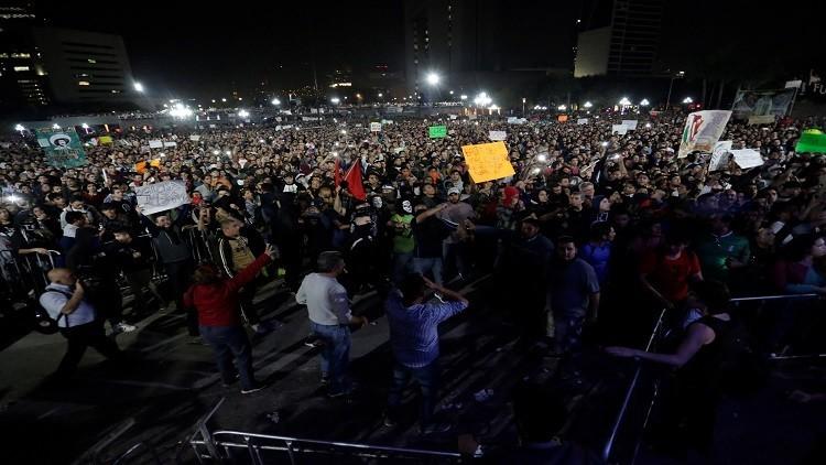رفع أسعار الوقود يشعل المكسيك