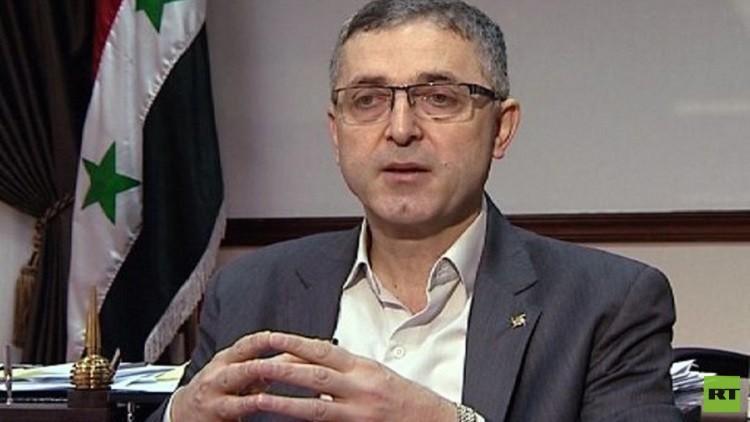 وزير المصالحة السوري يتحدث عن