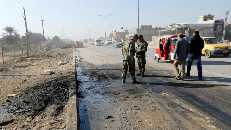 قتلى وجرحى بانفجار سيارة مفخخة شمال غربي بغداد