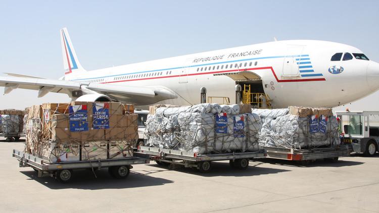 فرنسا تقدم شحنة أدوية كبيرة لدعم معركة الموصل