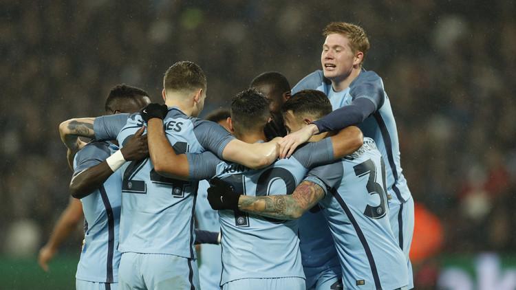 مانشستر سيتي يكتسح وست هام في كأس الاتحاد