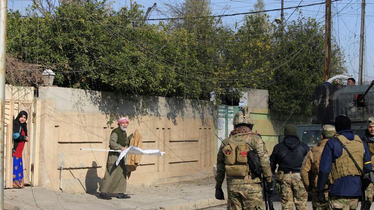 القوات العراقية تتوغل من جديد شرقي الموصل