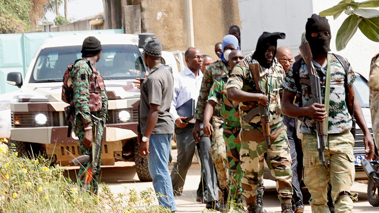الاتفاق لإنهاء التمرد العسكري في ساحل العاج