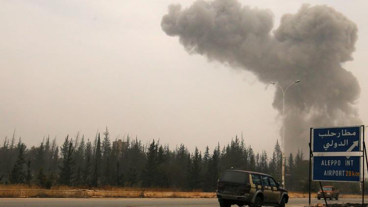قذائف المسلحين تجبر النواب الفرنسيين المكوث في حلب