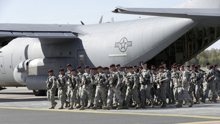 وصول 250 جنديا أمريكيا إلى الحدود الروسية