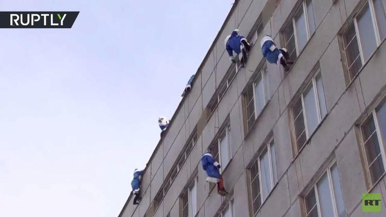 إنزال على مستشفى موروزوف للأطفال