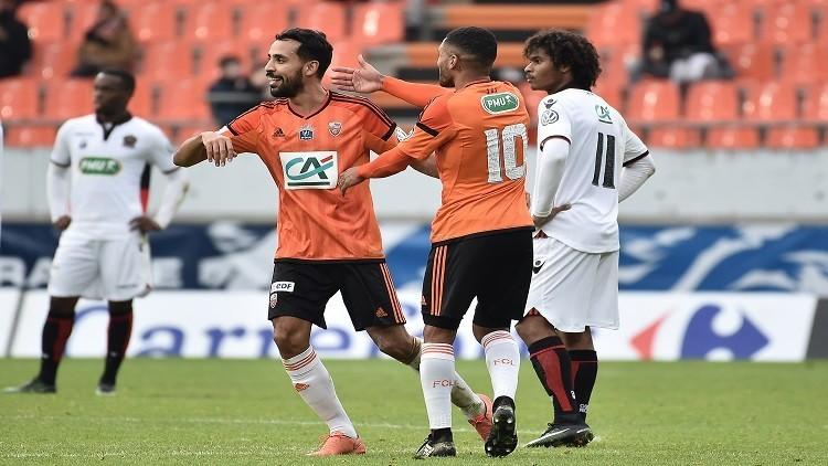 سقوط مدو لنيس في كأس فرنسا