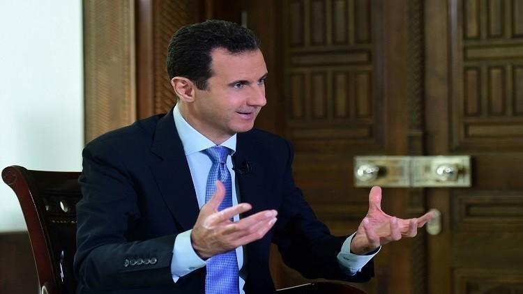 الأسد مستعد لمناقشة قضية منصبه وفق الدستور