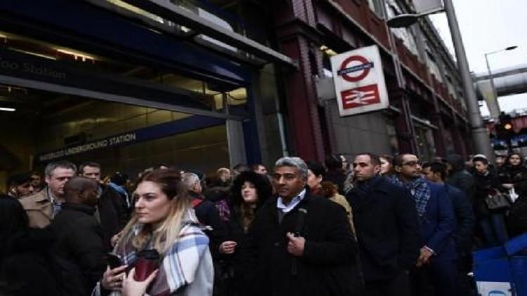 إضراب عمال مترو الأنفاق يصيب لندن بالشلل