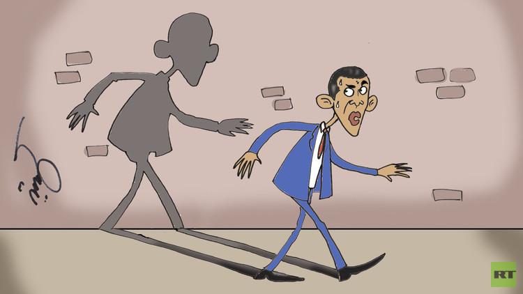 الكرملين: أوباما يطارد الأشباح!