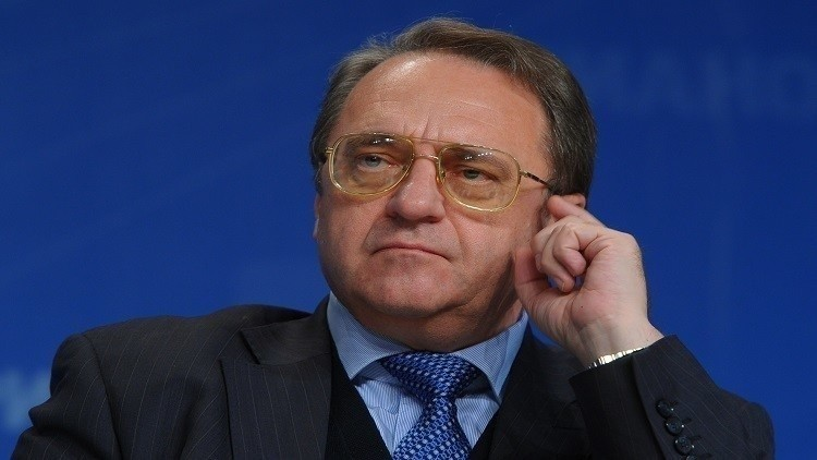 بوغدانوف يبحث التسوية السورية مع ممثل للمعارضة