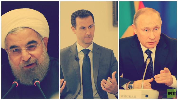 نقاط الاتفاق والاختلاف بين روسيا وإيران في سوريا بعين أمريكية