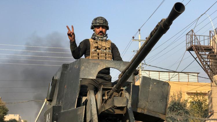 القوات العراقية تعلن تحرير حي السكر شرقي الموصل