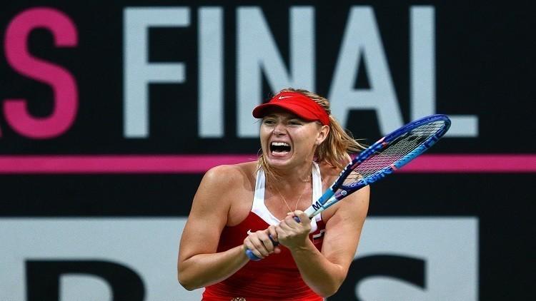 تحديد موعد عودة شارابوفا إلى ملاعب التنس
