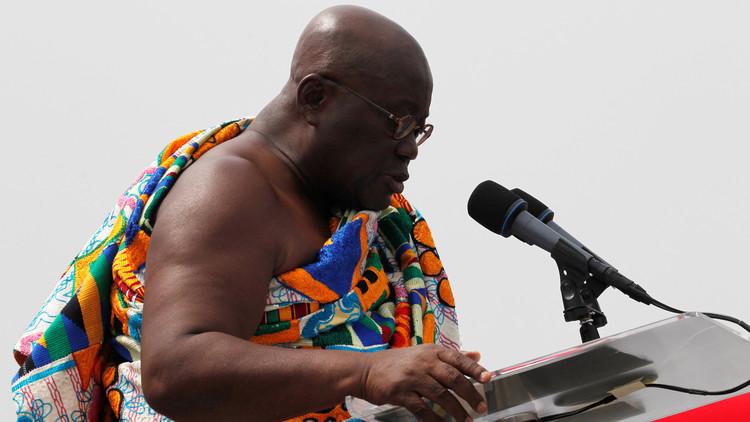اتهام رئيس غانا الجديد بسرقة أفكار جورج بوش وبيل كلينتون!