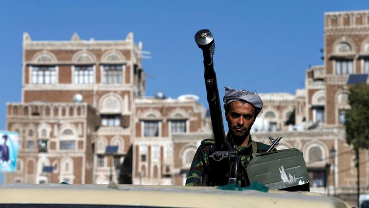 مقاتل تابع للحوثيين