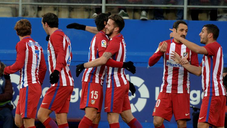 أتلتيكو مدريد يبلغ ربع نهائي كأس إسبانيا بشق الأنفس