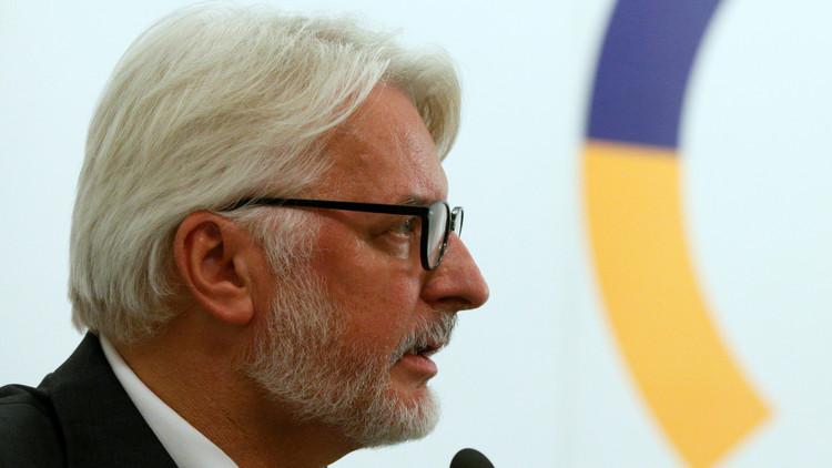 وزير الخارجية البولندي يكتشف دولة جديدة