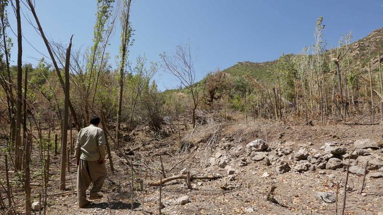 غارات تركية على 14 موقعا للكردستاني شمال العراق
