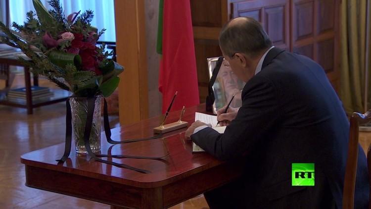 لافروف يقدم تعازيه بوفاة الرئيس الاشتراكي البرتغالي الأسبق ماريو سواريز