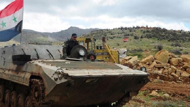 الجيش يقتحم آخر معقل للمعارضة المسلحة في ريف دمشق