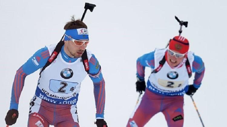 منتخب روسيا للبياثلون يحرز فضية كأس العالم في سباق التتابع