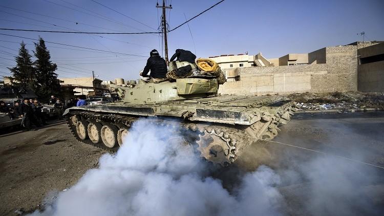البنتاغون: القوات العراقية تسيطر على أهم المباني الحكومية في الموصل