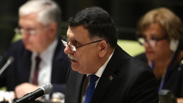 السيسي يؤكد للسراج دعم مصر للوفاق والحوار في ليبيا