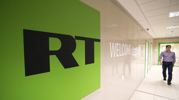 RT: نتابع باهتمام قصة بث أحد برامجنا في قناة أمريكية بعد