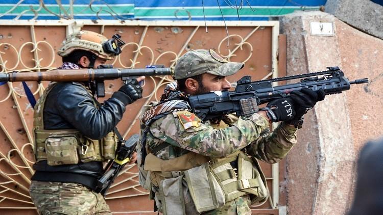 تحرير حي الأندلس شمال شرق الموصل