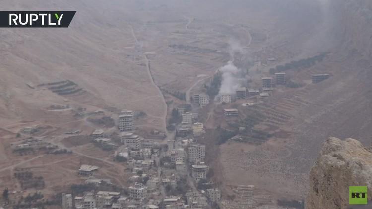 أكثر من ألف مسلح من وادي بردى نحو المغادرة إلى إدلب