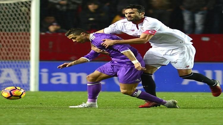 رغم الهزيمة.. رونالدو يخرج بإنجاز جديد من مباراة إشبيلية