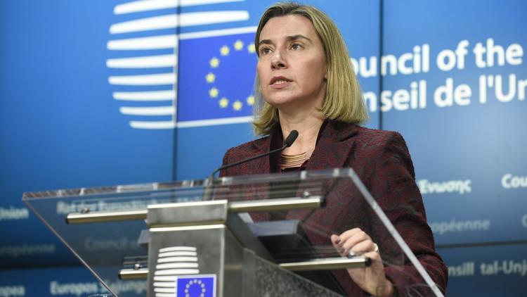 موغيريني: الاتحاد الأوروبي سيلتزم بالاتفاق النووي الإيراني