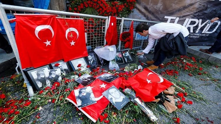 أنقرة: هجوم اسطنبول احترافي ونفذ بمشاركة أجهزة استخباراتية
