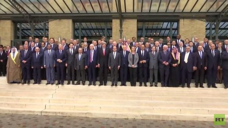 مؤتمر باريس يحذر من خطوات أحادية الجانب