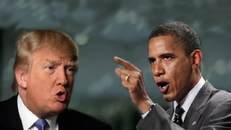 ترامب ضد أوباما