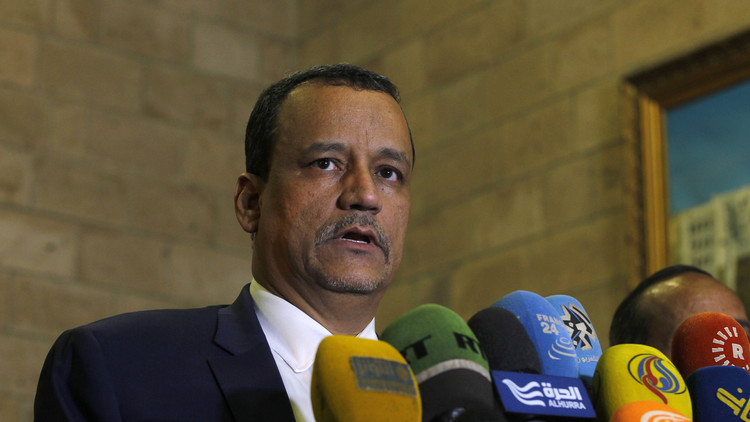 ولد الشيخ في عدن لإطلاع هادي على تعديلات في مبادرة السلام