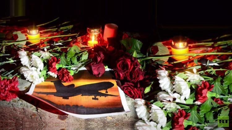 روسيا تشيع ضحايا طائرة