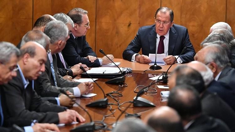 لافروف يدعو الفصائل الفلسطينية إلى توافق سياسي
