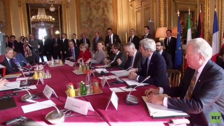 ترحيب فلسطيني بنتائج مؤتمر باريس