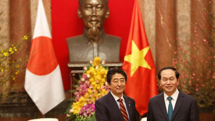 اليابان تنشئ محورا مضادا للصين في جنوب-شرق آسيا