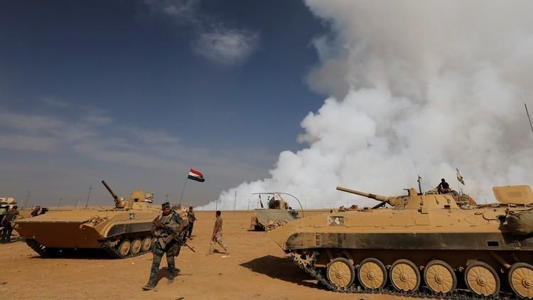 العبادي: القوات العراقية بدأت التحرك ضد داعش في غرب الموصل
