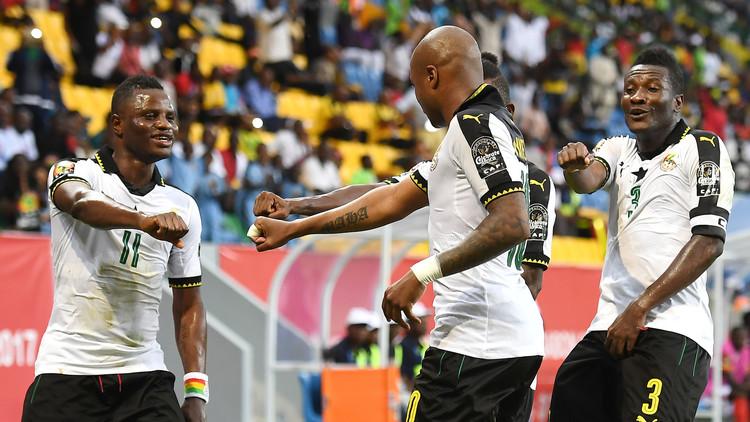 غانا تتخطى أوغندا في أمم أفريقيا