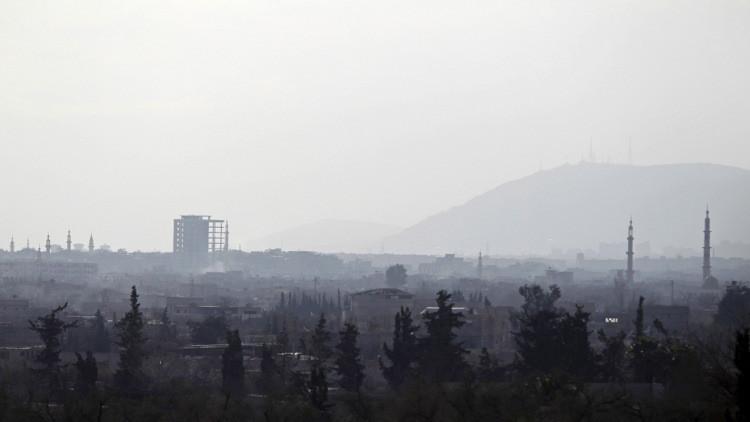 مقتل عميد و8 عسكريين في الجيش السوري جراء تفجير نفق في حرستا