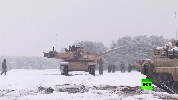 عسكريون أمريكيون يجرون تدريبات في بولندا