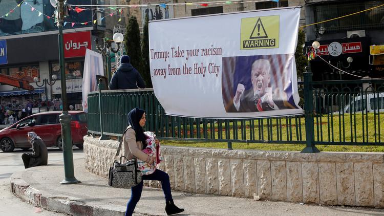 طاقم أمريكي يتفقد الموقع المخصص للسفارة في القدس الشرقية