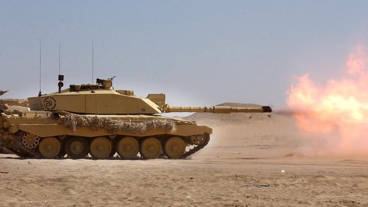 الجيش البريطاني ينفذ تدريبا فريدا لـ
