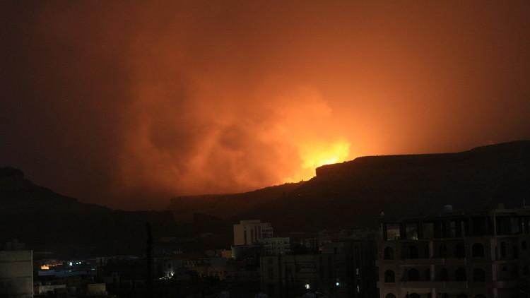 غارات التحالف العربي على صنعاء
