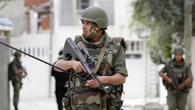 جندي تابع للجيش التونسي
