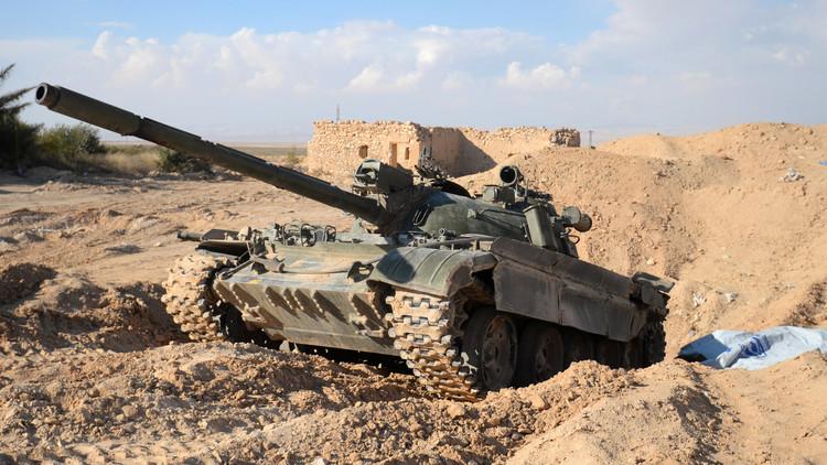 الجيش السوري يستعيد مفرق القريتين الاستراتيجي بريف حمص الشرقي